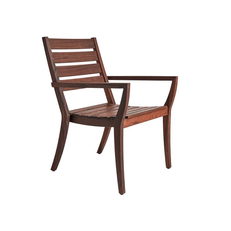 Laguna Stacking Arm Chair w/Cushion - Premier Lagoon