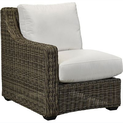 Oasis Cushion Left Arm - Vesper Pebble