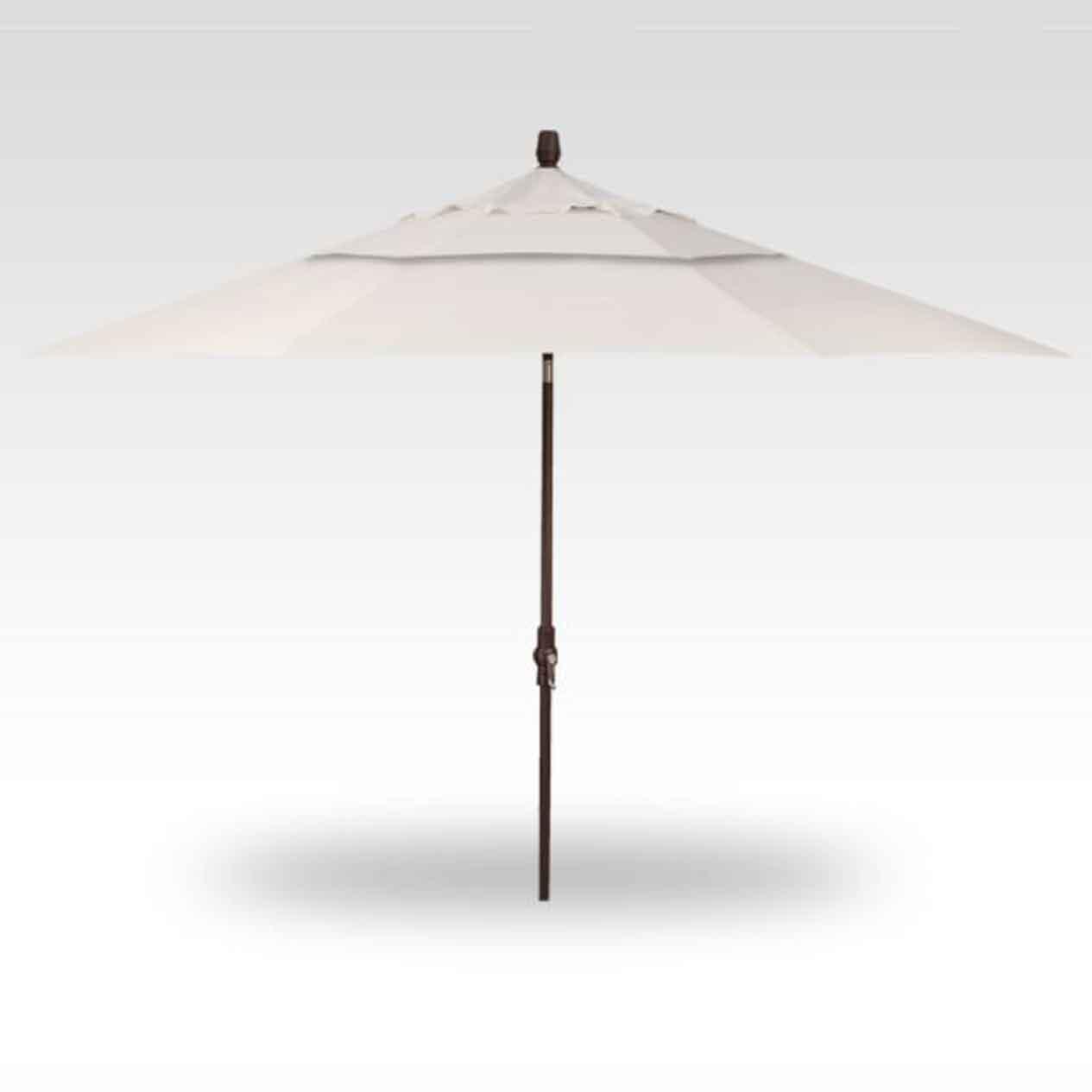 11' Collar Tilt Market Umbrella - Canvas
