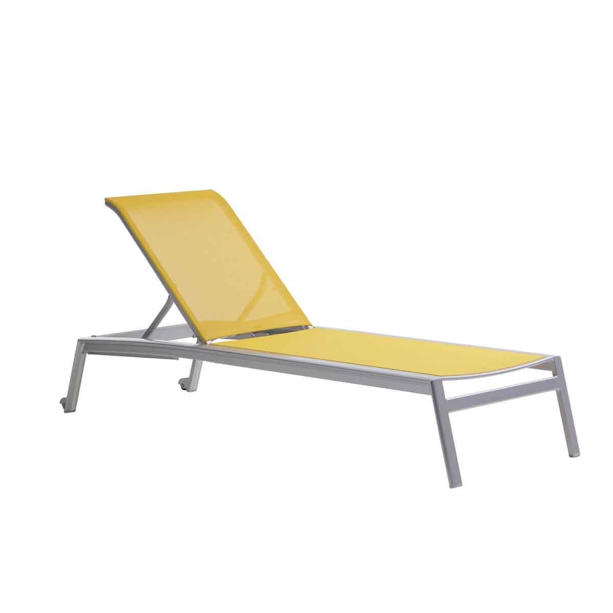 Lyon Sling Armless Chaise - Batyline Solar