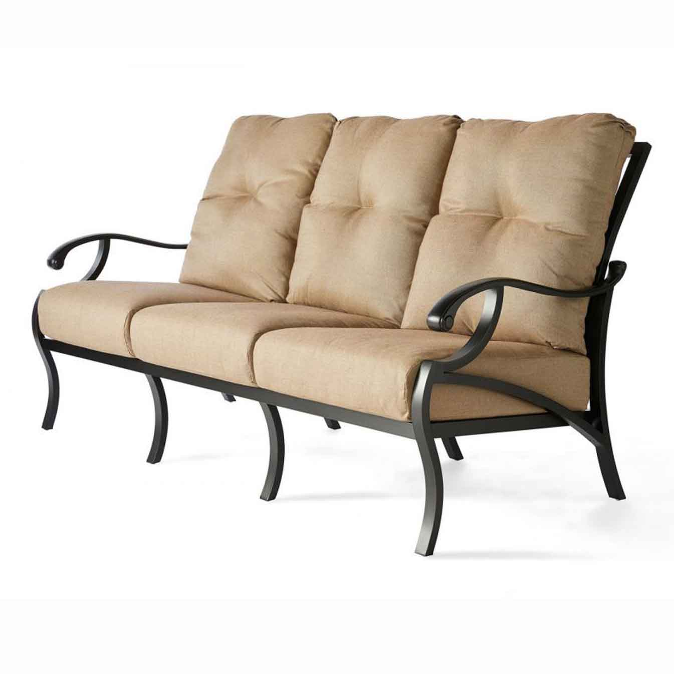 Volare Cushion Sofa - Rochelle Pebble