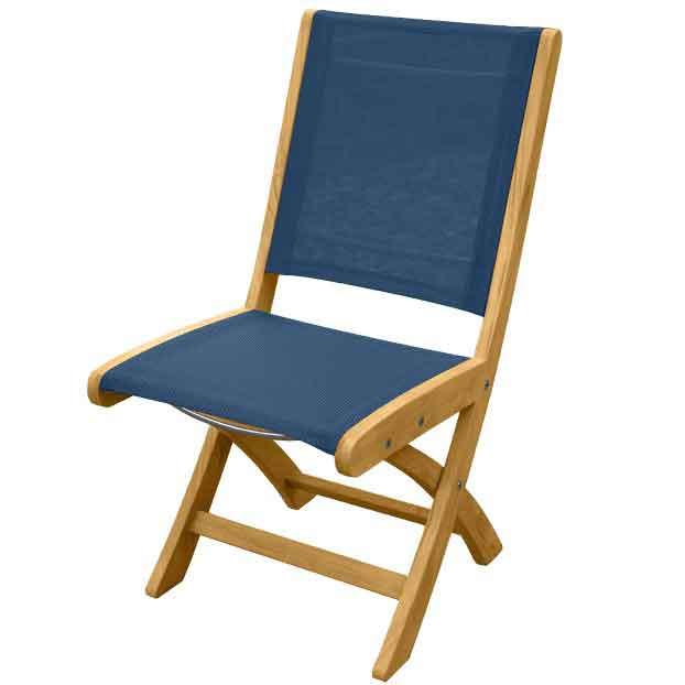 Riviera Sling Folding Side Chair
