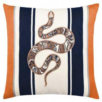 Serpent Midnight Pillow
