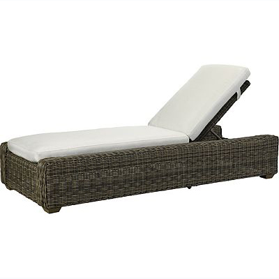 Oasis Cushion Chaise - Vesper Pebble