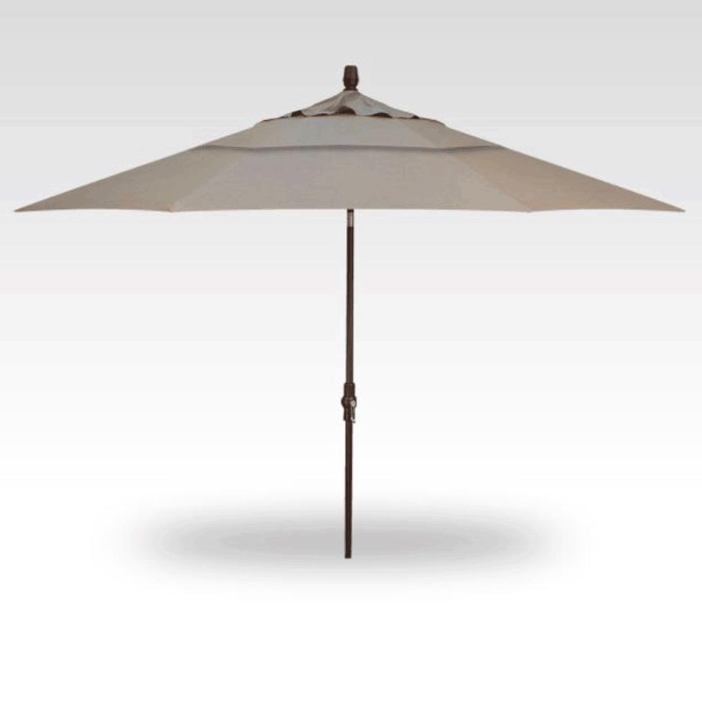 11' Collar Tilt Market Umbrella - Cast Ash