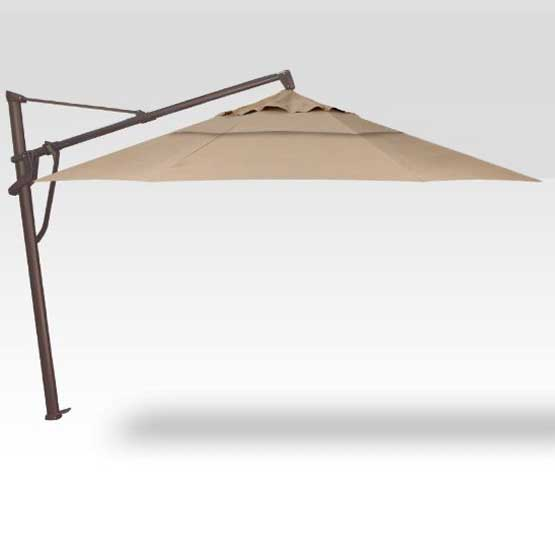 AKZ 11' Plus Octagon Umbrella - Heather Beige
