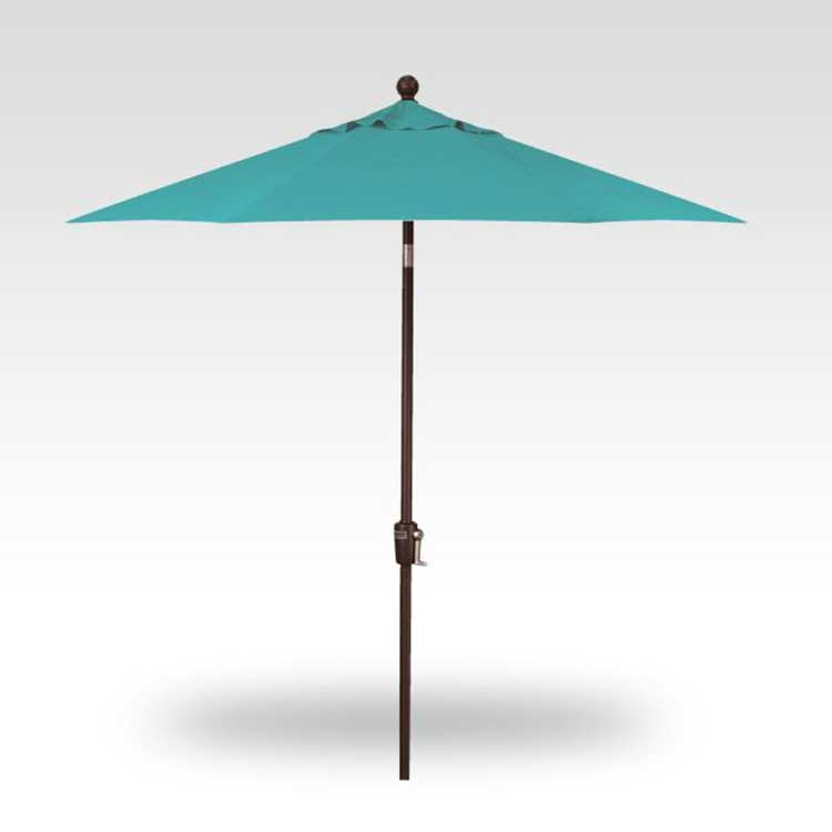 7.5' Push-Button Tilt Market Umbrella - Aruba
