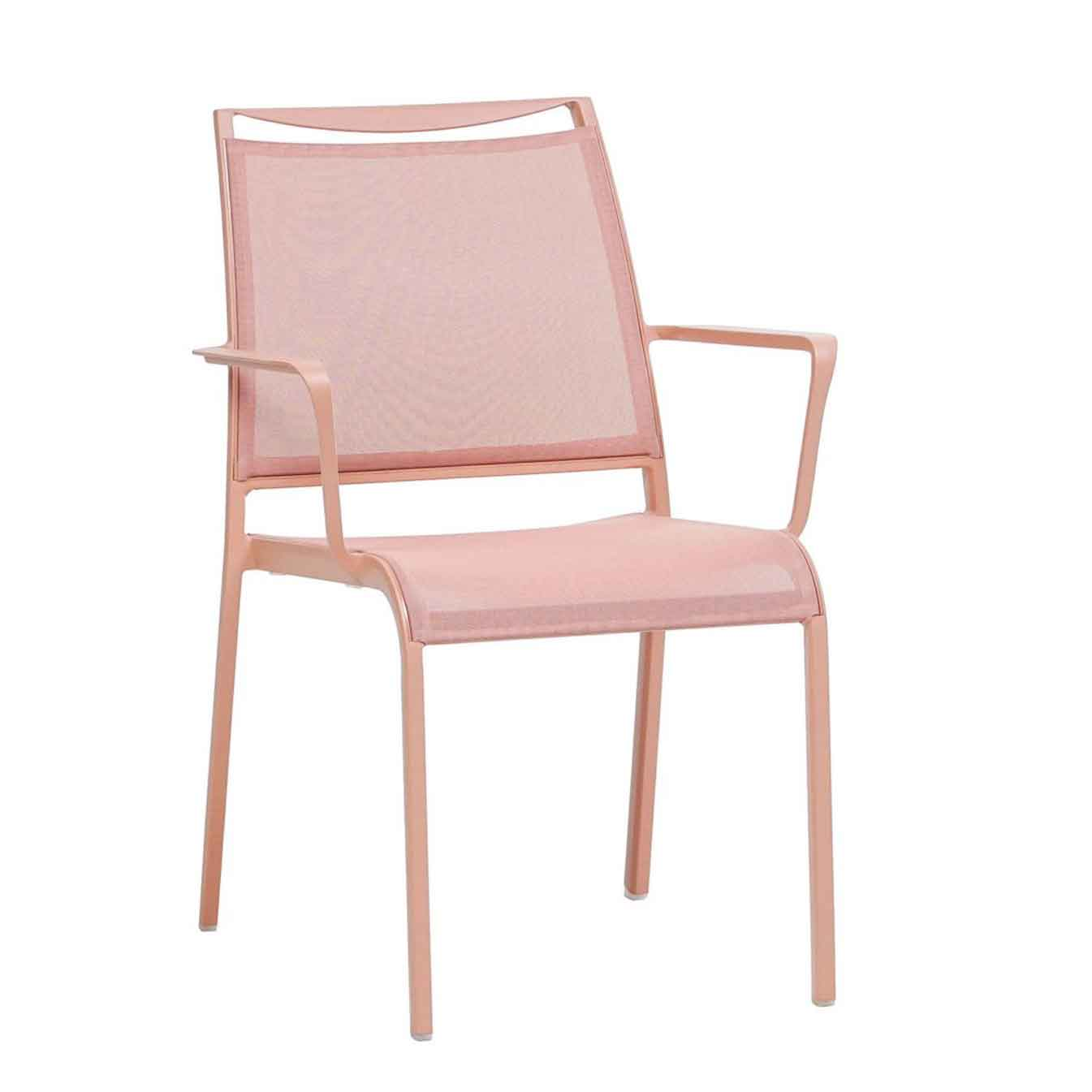 Como Sling Dining Chair - Pink