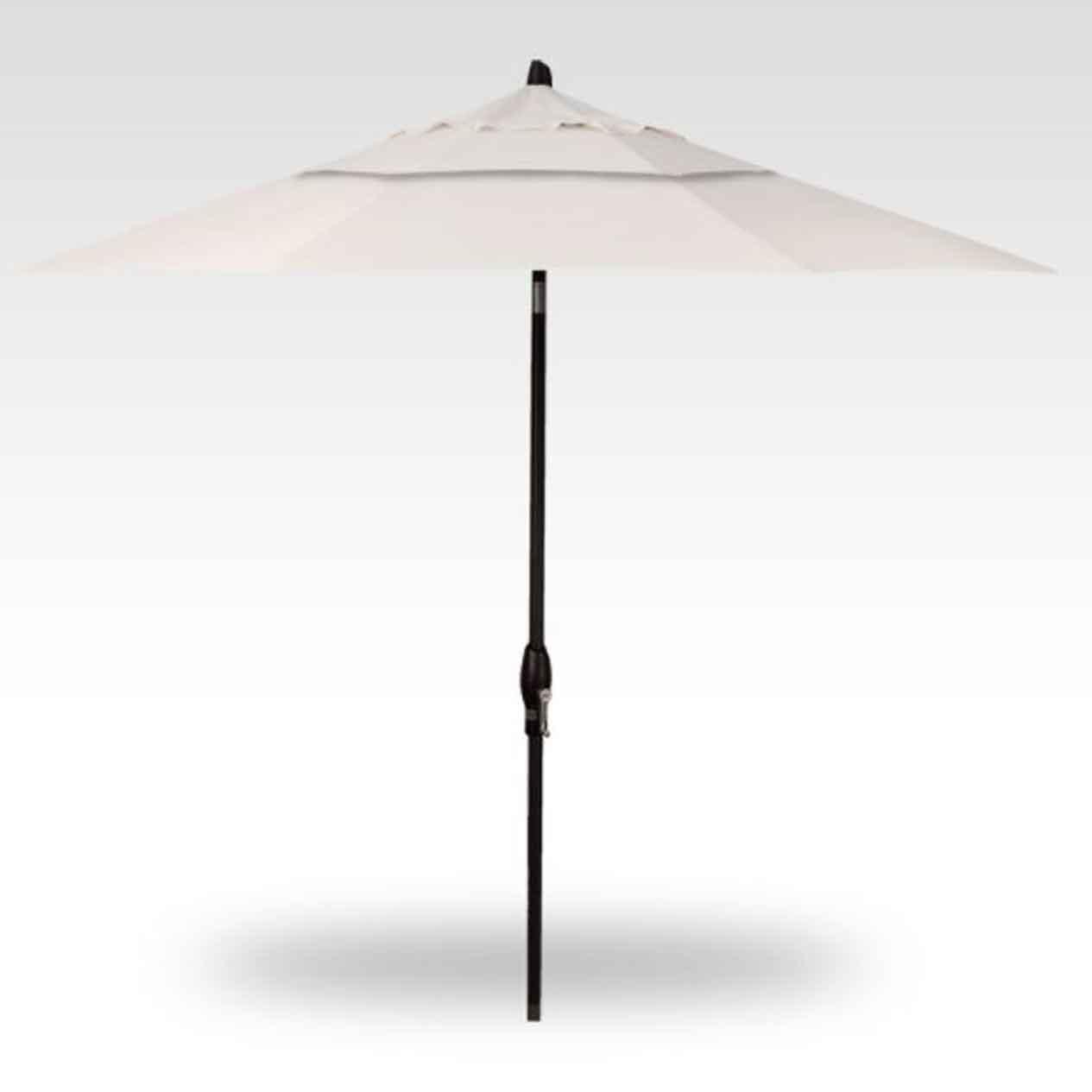 9' Auto Tilt Market Umbrella - Canvas