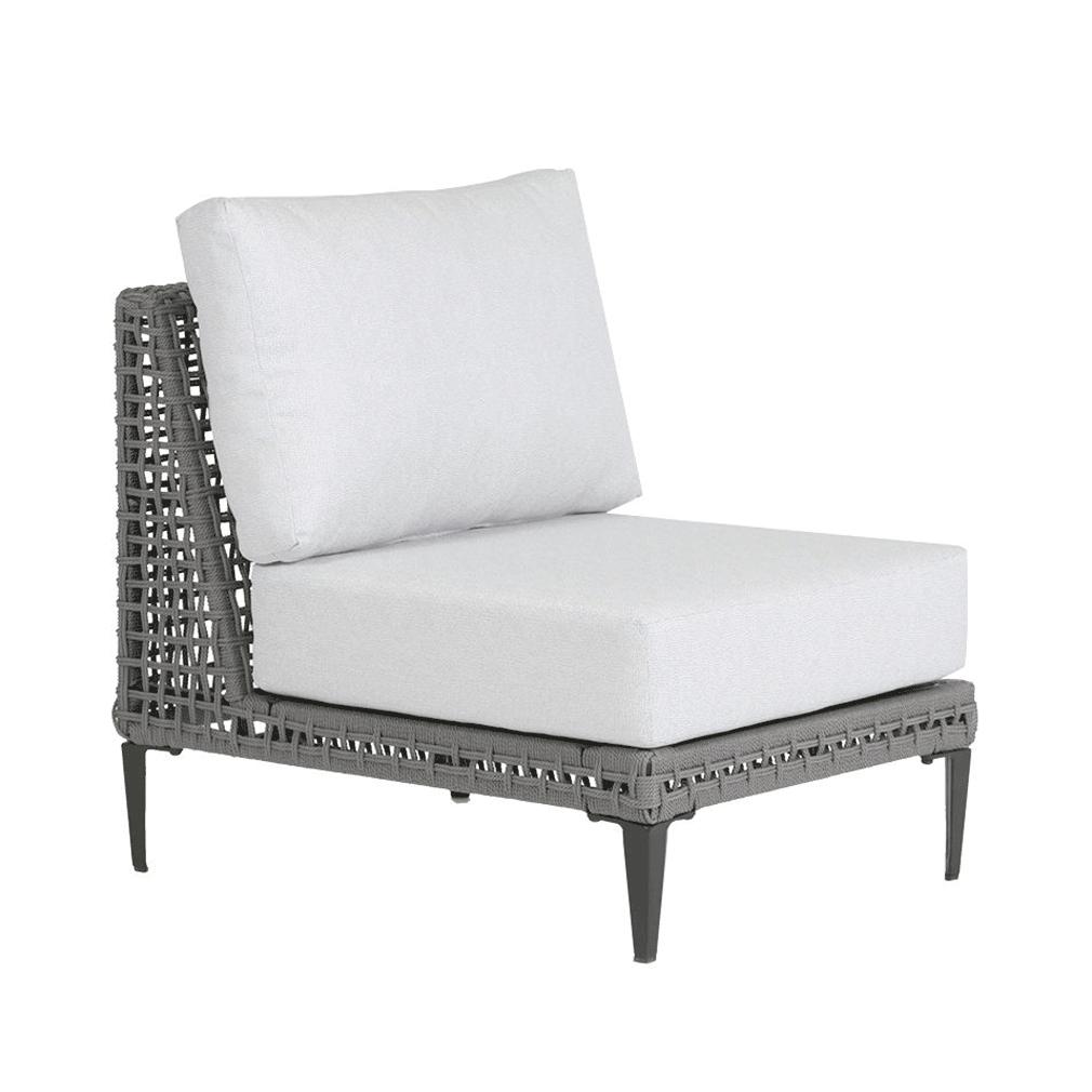 Genval Cushion Armless Chair