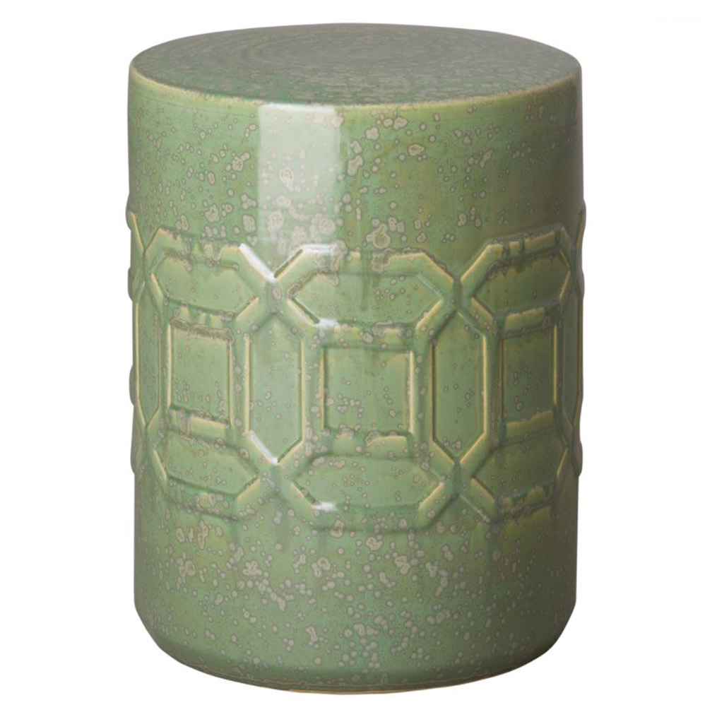 Green Speckle Axton Stool