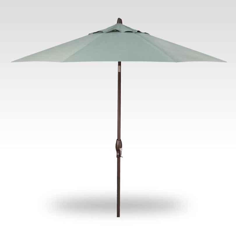 9' Auto Tilt Market Umbrella - Spa