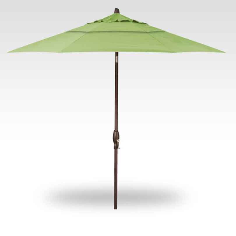 9' Auto Tilt Market Umbrella - Gingko