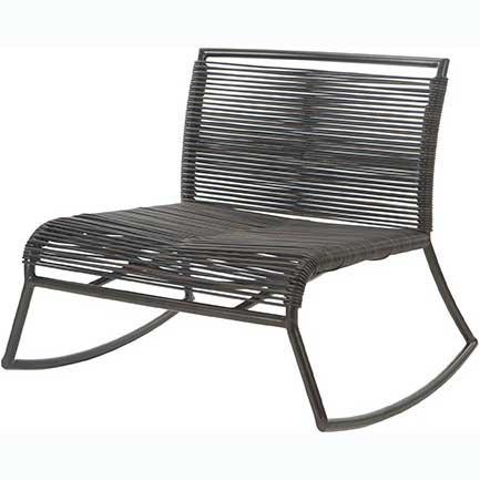 Monaco Woven Rocking Chair