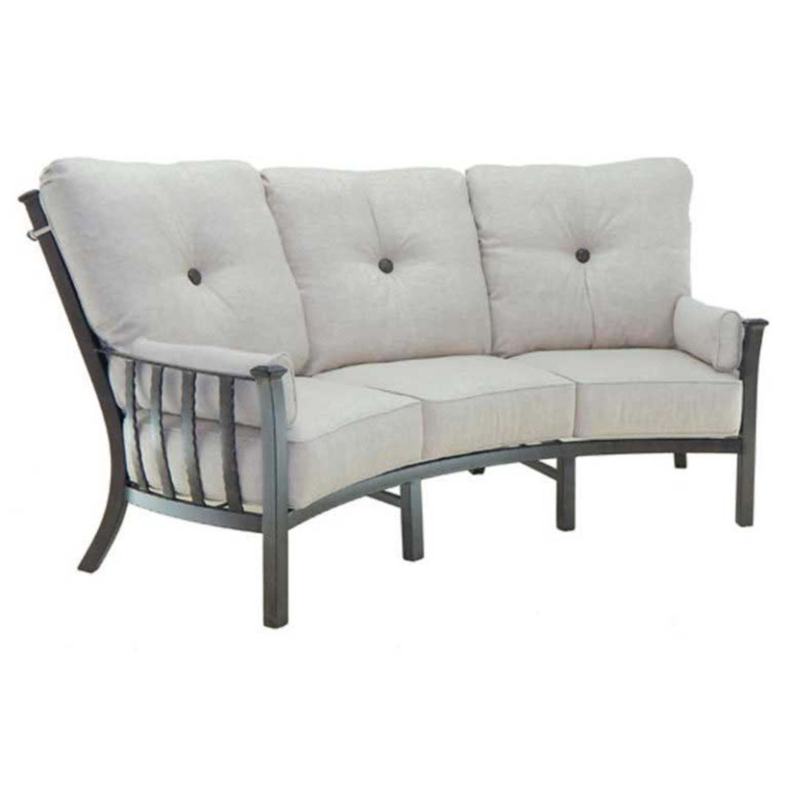 Santa Fe Cushion High Back Crescent Sofa