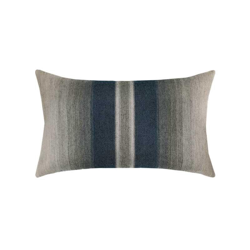 Ombre Indigo Lumbar Pillow