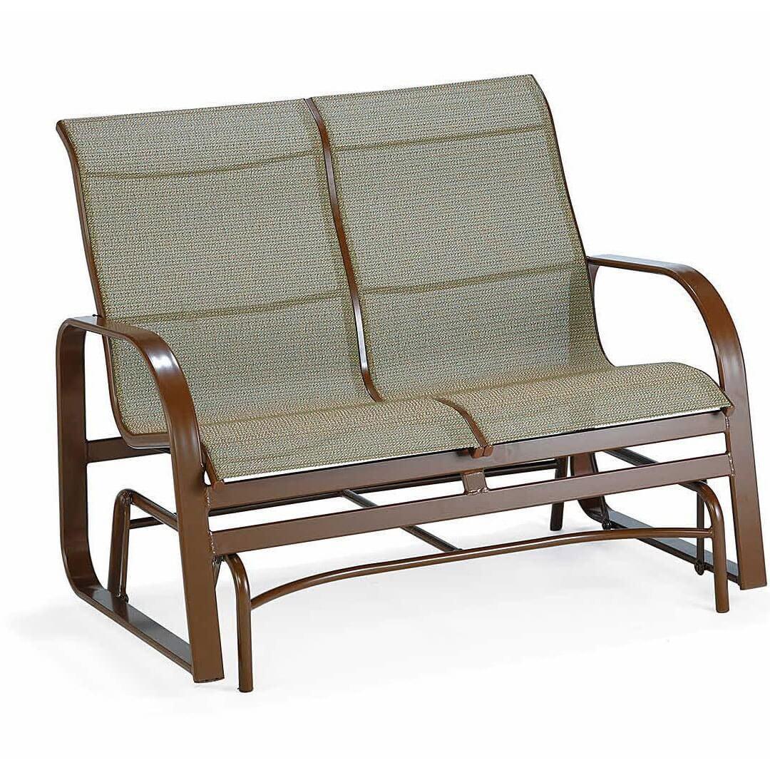 Winston Seagrove Ii Sling Loveseat Glider Outdoor Furniture Sunnyland Outdoor Patio Furniture