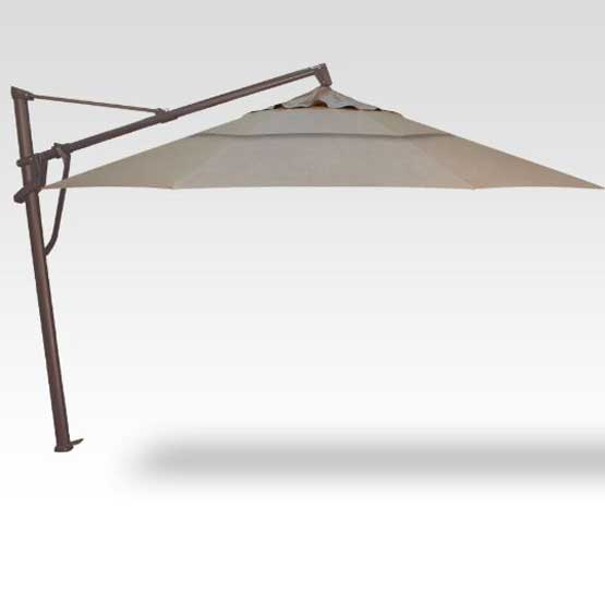 AKZ 13' Plus Starlux Octagon Umbrella - Cast Ash