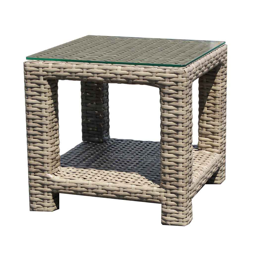 Grand Stafford End Table w/Glass