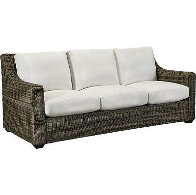 Oasis Cushion Sofa - Vesper Pebble