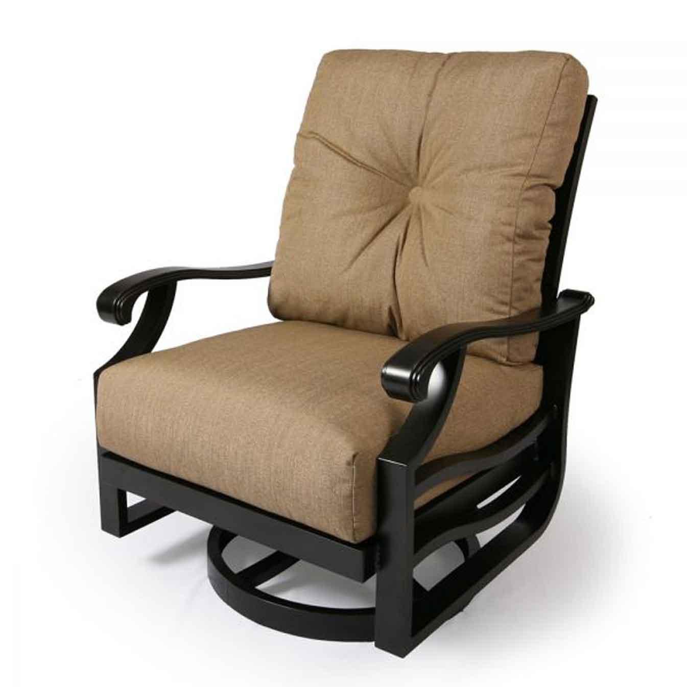 Anthem Cushion Swivel Club Chair - Rochelle
