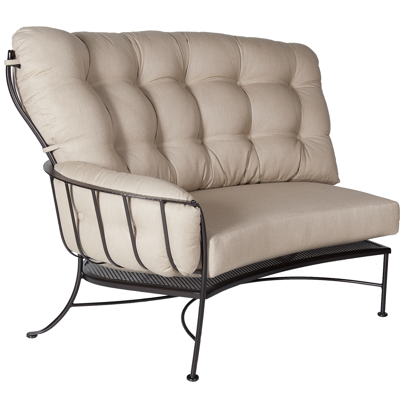 Monterra Cushion Right Section - Flagship Silver