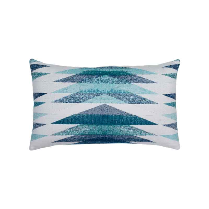 Symmetry Ocean Lumbar Pillow