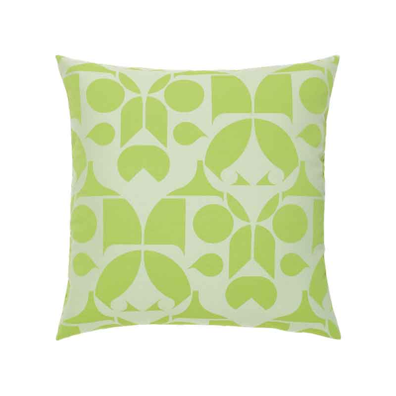 Graphic Greenery Pillow