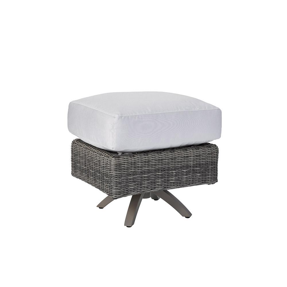 Cocoon Cushion Ottoman - Vesper Pebble