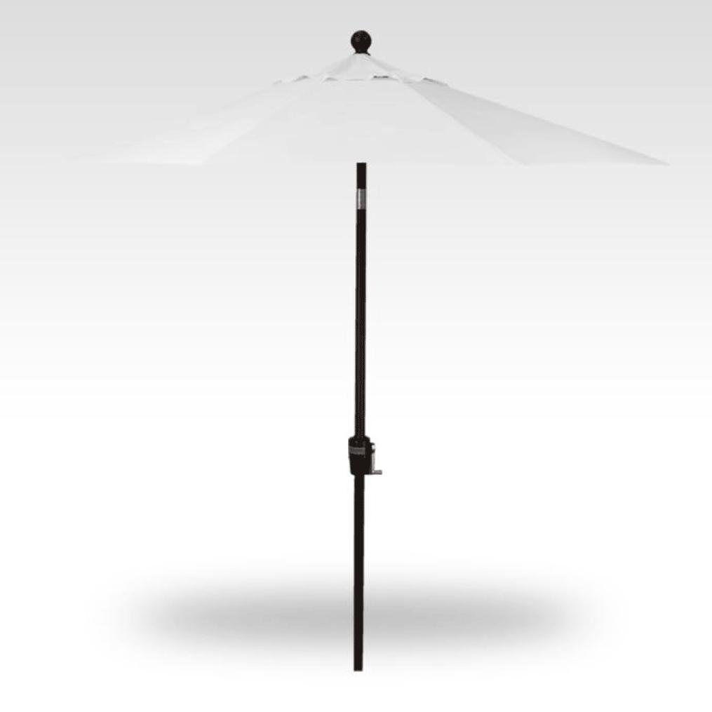 7.5' Push Button Tilt Umbrella - Natural