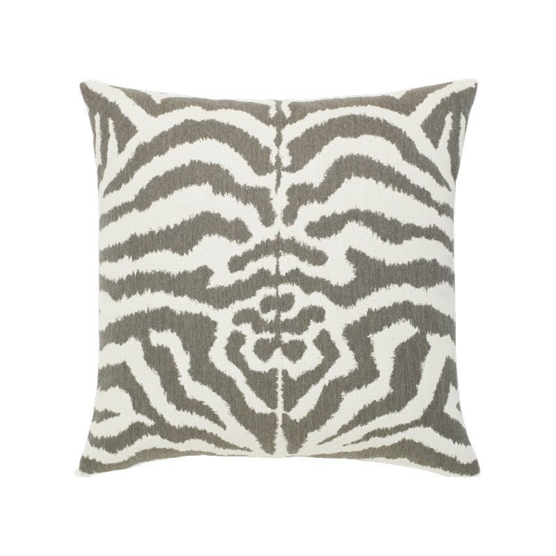 Zebra Gray Pillow