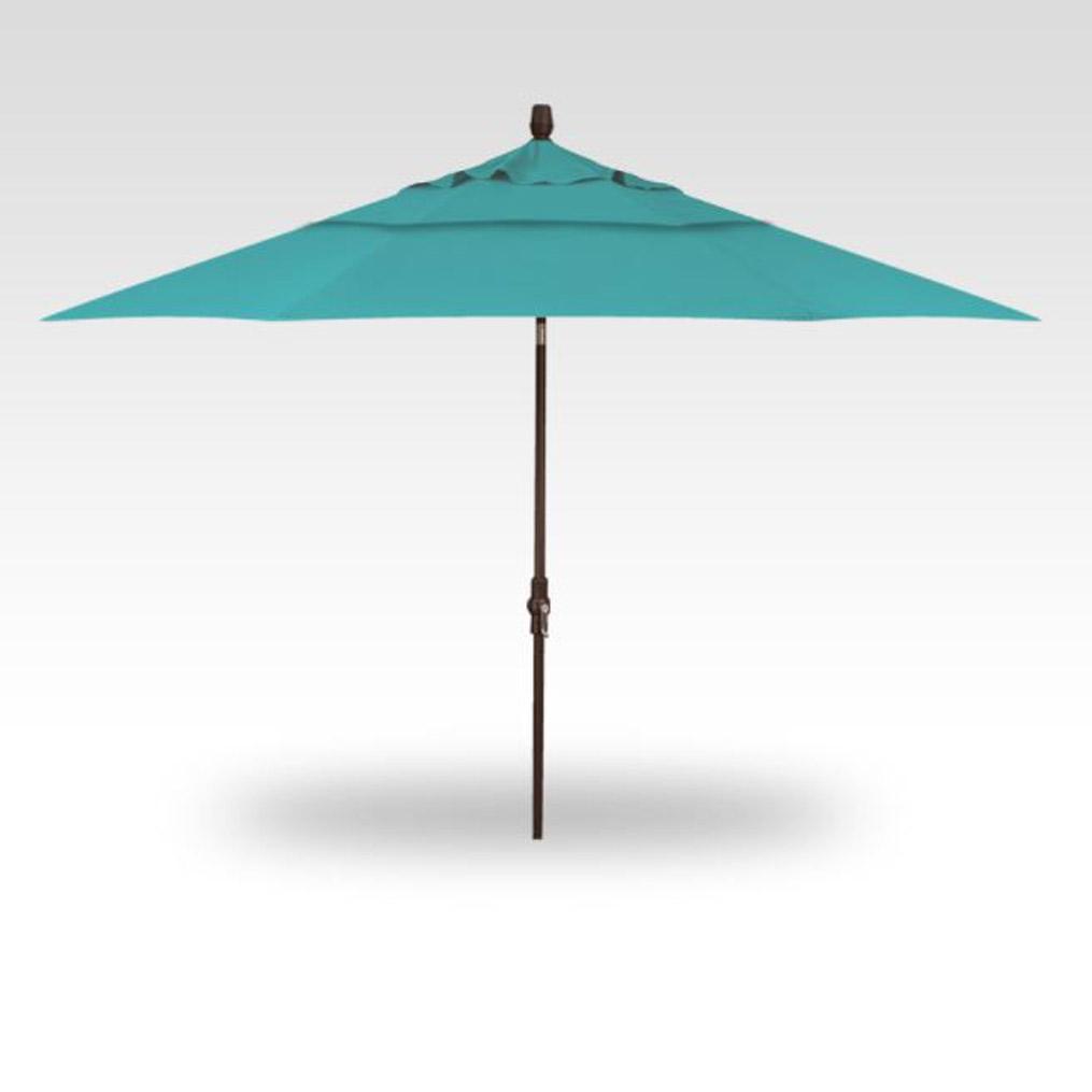11' Collar Tilt Market Umbrella - Aruba