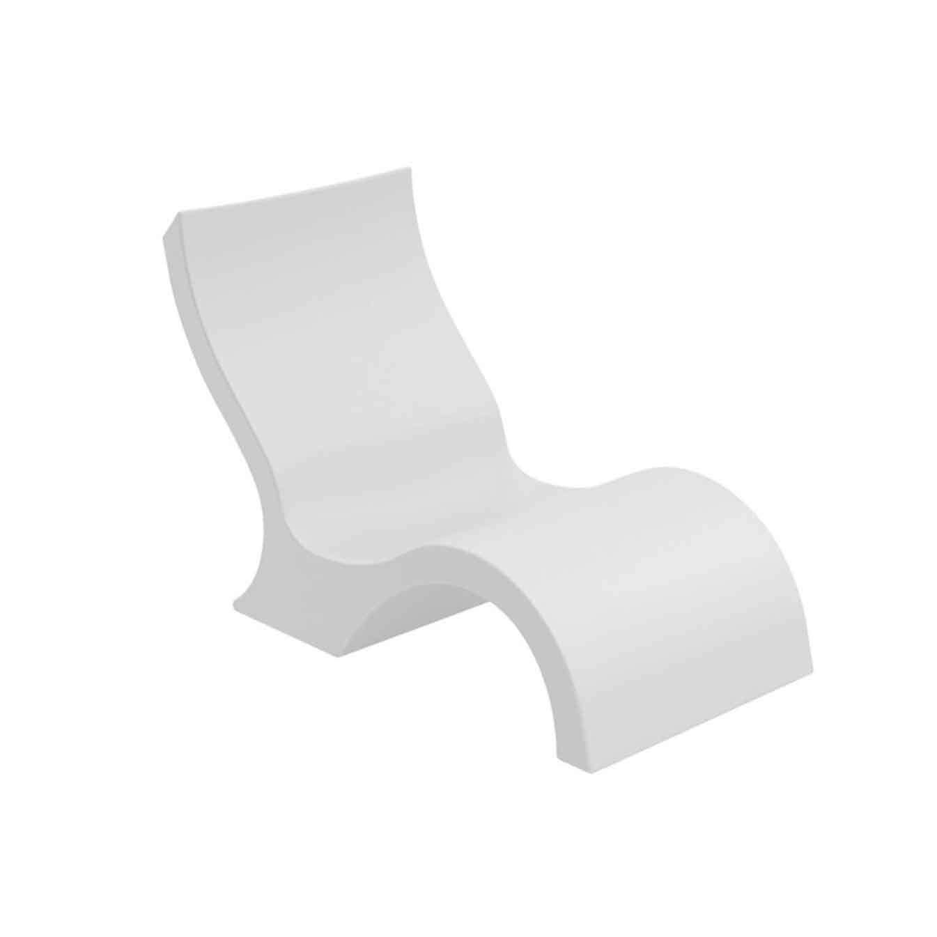 Ledge Lounger In-Pool Low Back Chair