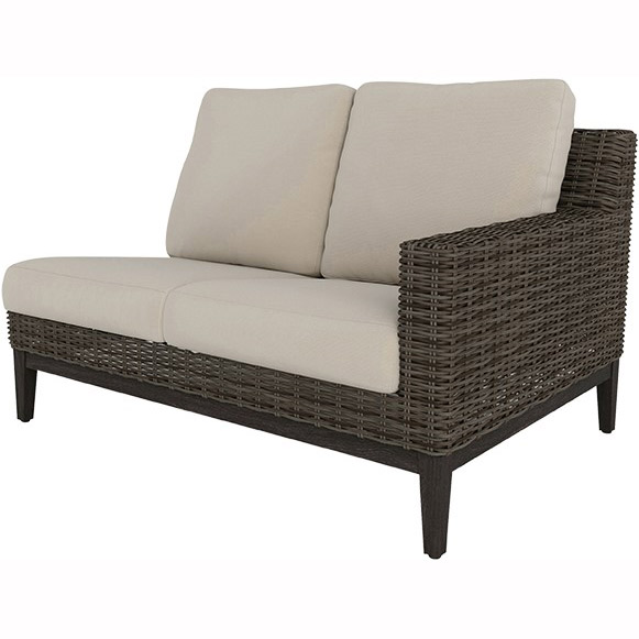 Remy Woven Cushion Left Arm Loveseat