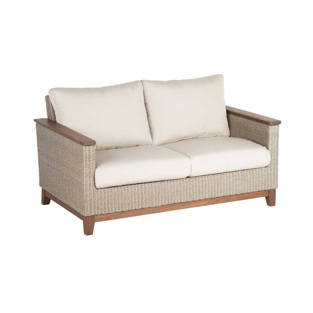 Coral Cushion Loveseat