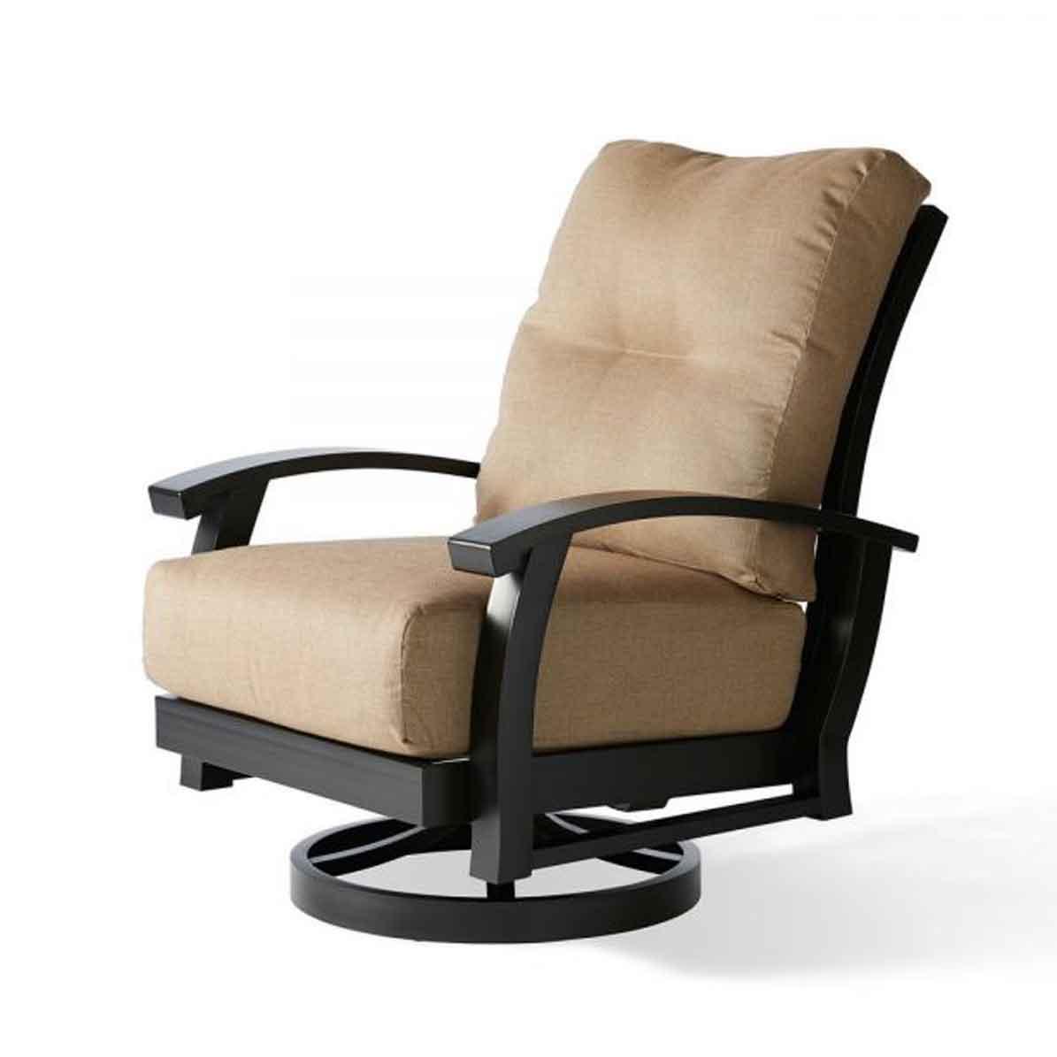 Georgetown Swivel Club Chair - Cast Ash