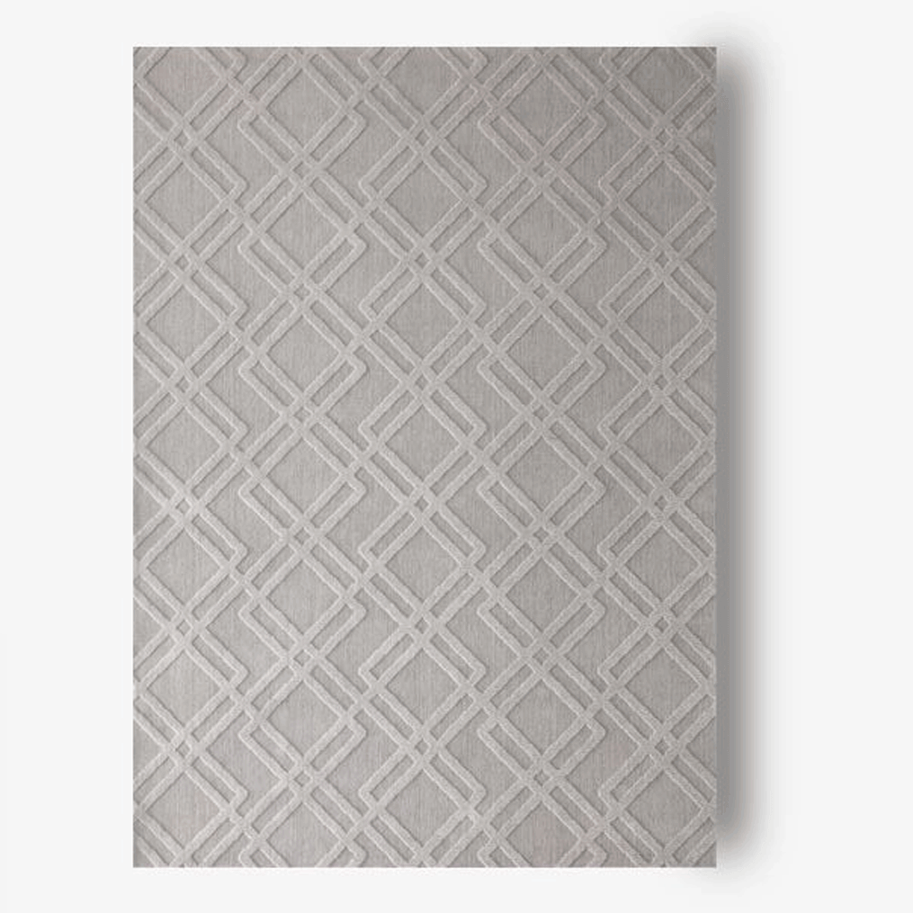 Manhattan Plush Gray 5x8