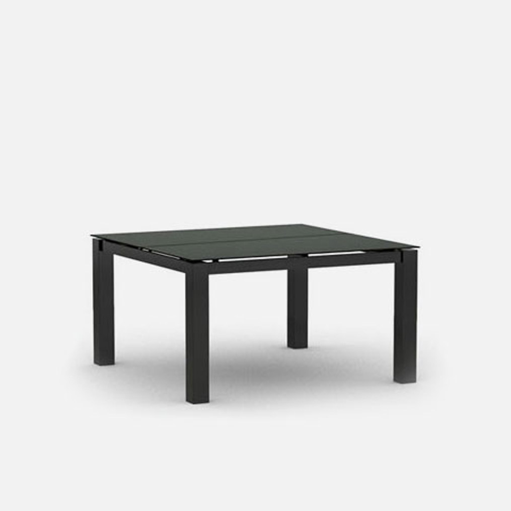 Mode Square Chat Table - Carbon & Storm