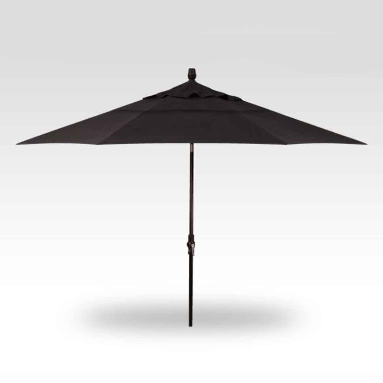 11' Collar Tilt Market Umbrella - Black