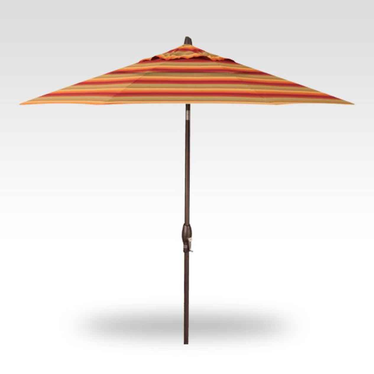 9' Auto Tilt Market Umbrella - Astoria Sunset
