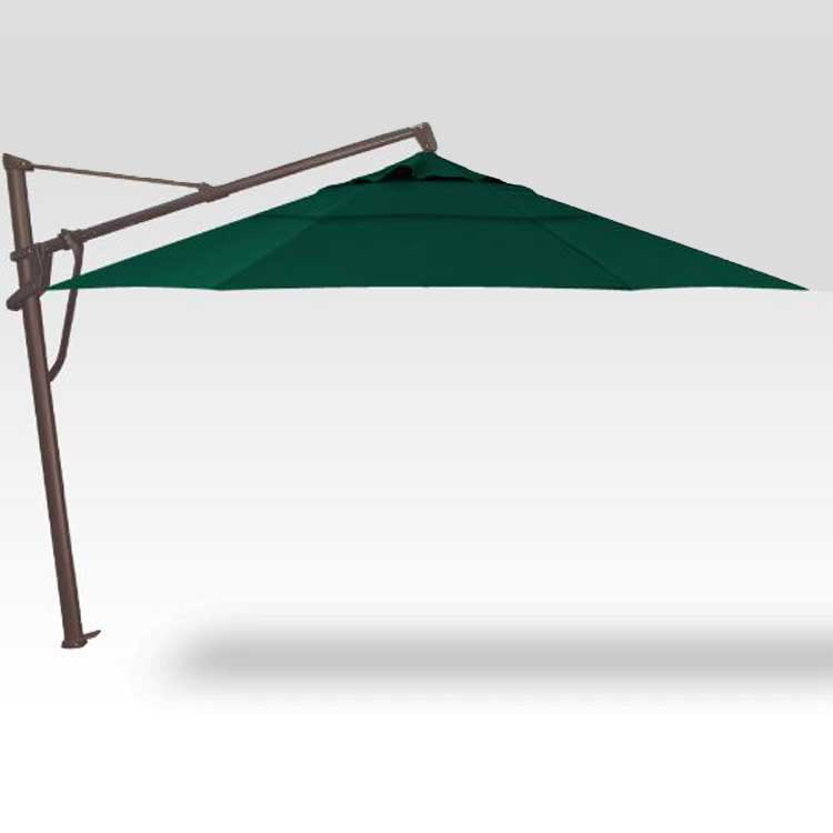 AKZ 11' Plus Octagon Cantilever - Forest Green