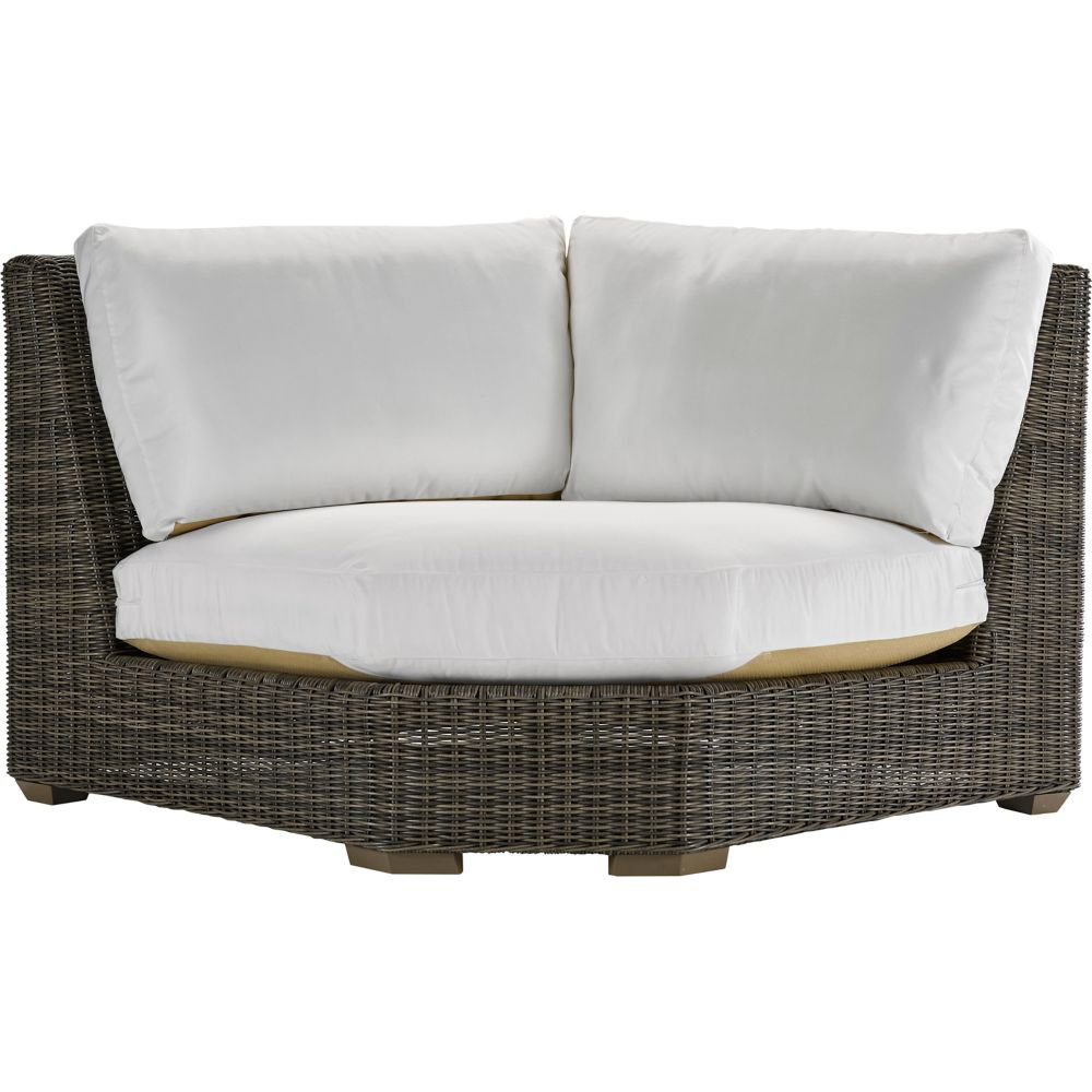 Oasis Cushion Corner Wedge - Vesper Pebble
