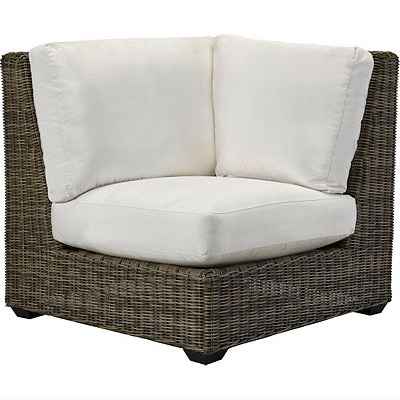 Oasis Cushion Corner Chair - Vesper Pebble
