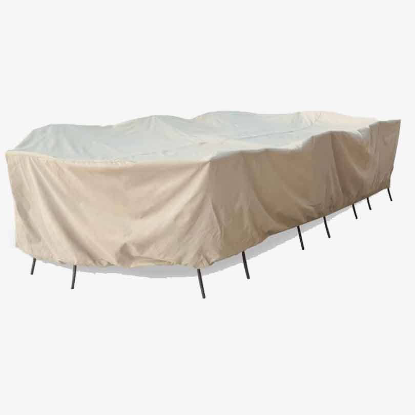 2XL Oval/Rectangle Table & Chair Cover