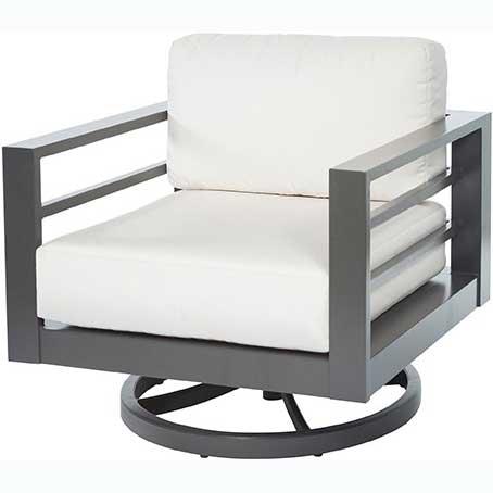 Palermo Cushion Swivel Club Chair