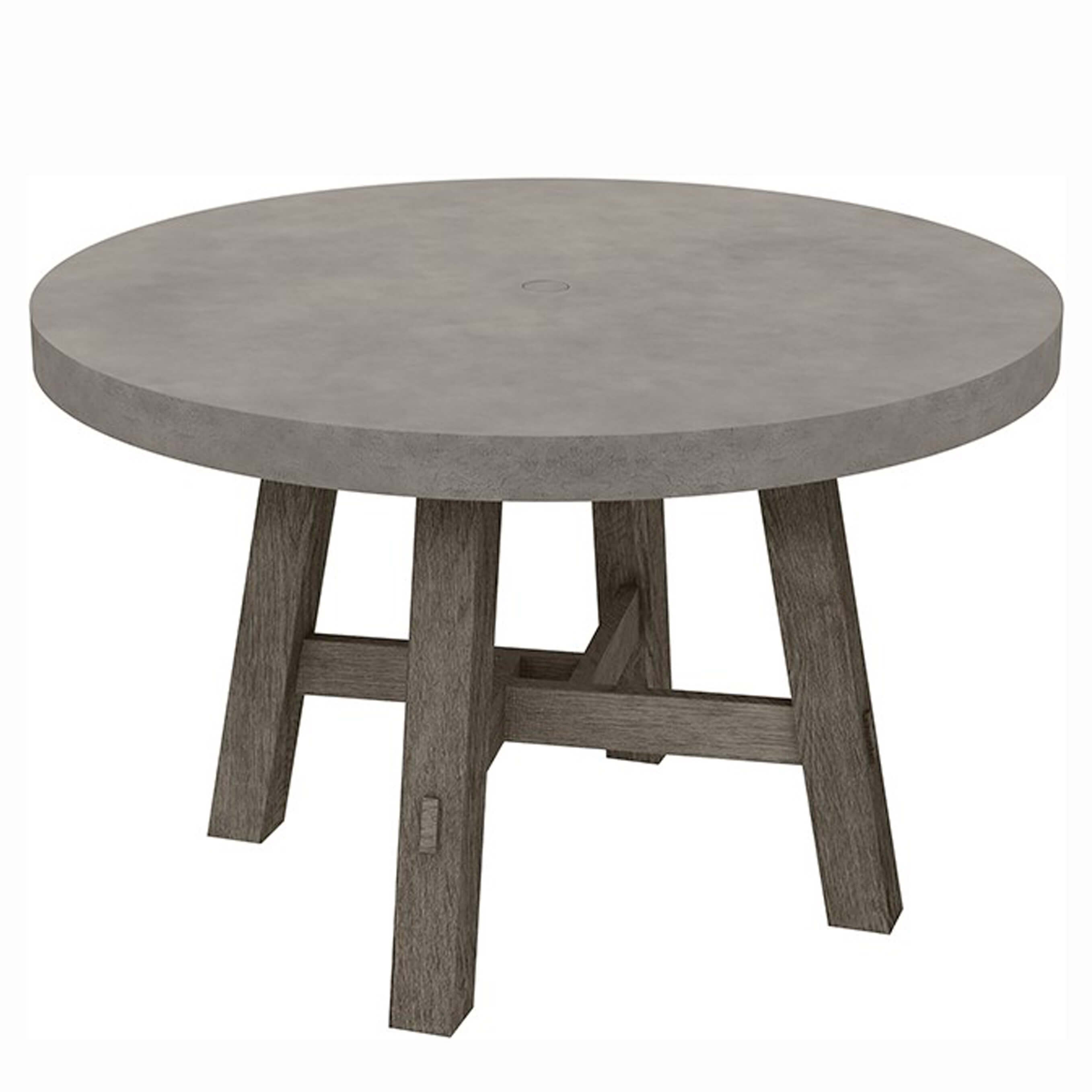 Ebel Amherst 50 Round Dining Table Outdoor Furniture Sunnyland Outdoor Patio Furniture Dallas Fort Worth Tx