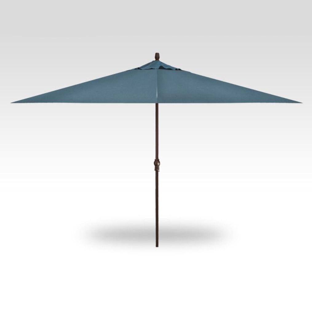 8x11 Collar Tilt Market Umbrella - Cast Lagoon
