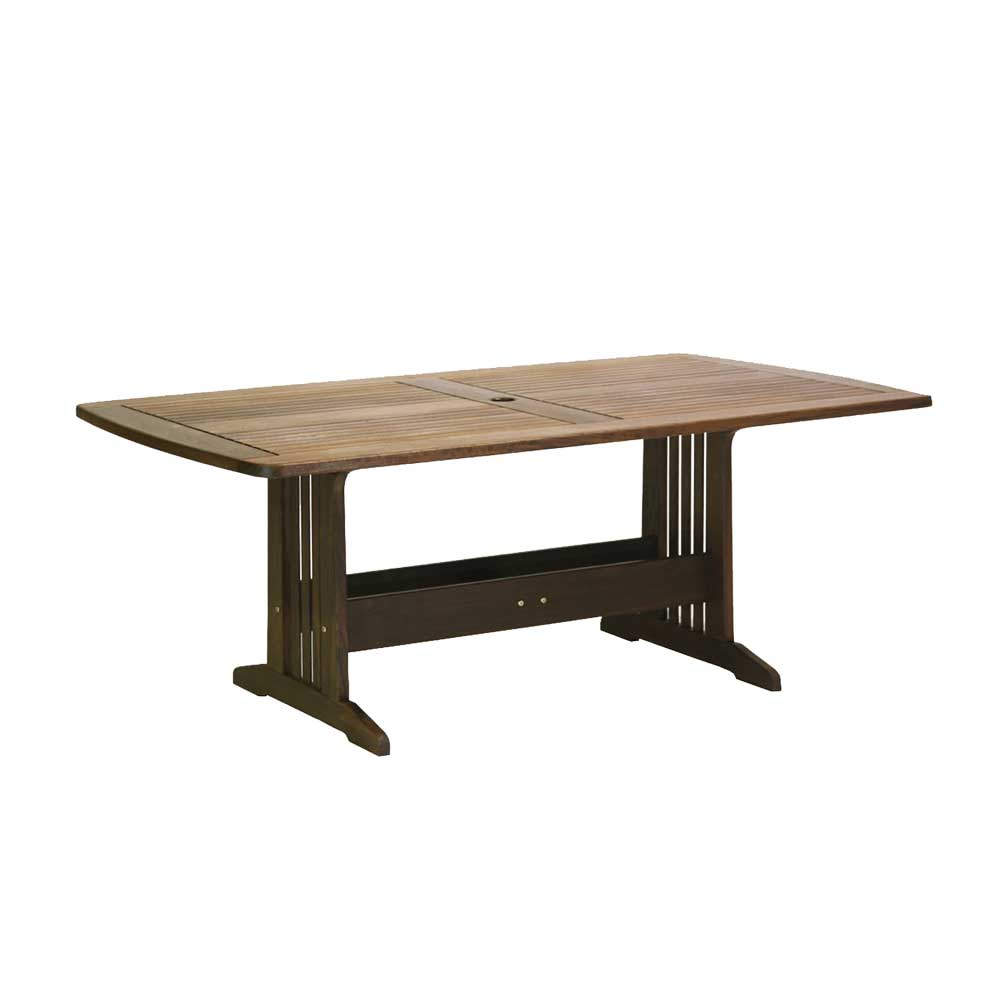 Jensen Leisure Belmont IPE 74x41quot Rectangular Dining Table  : 9236486C 1024x768 from www.sunnylandfurniture.com size 1008 x 1008 jpeg 23kB