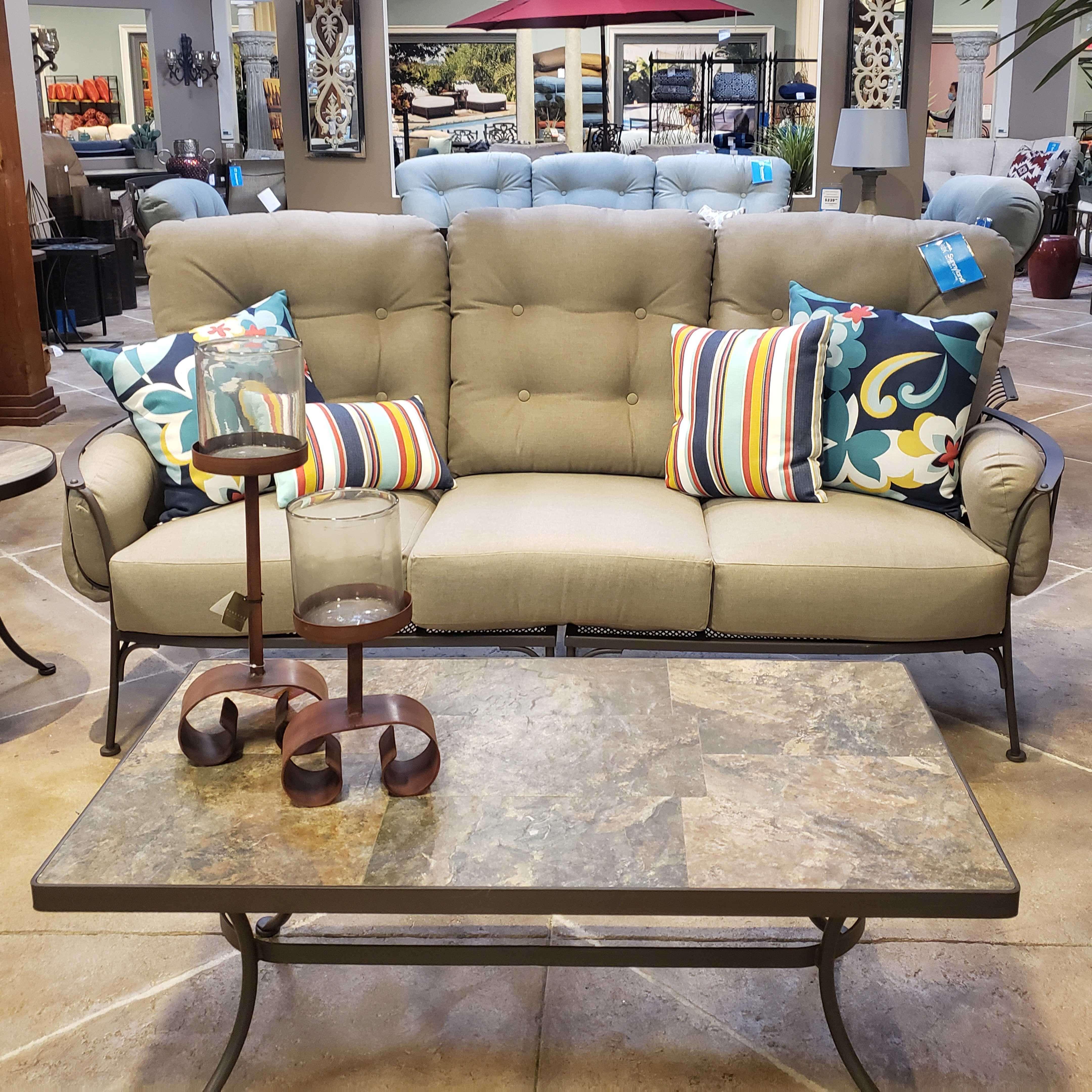 Monterra Cushion Sofa - Sailcloth Shadow