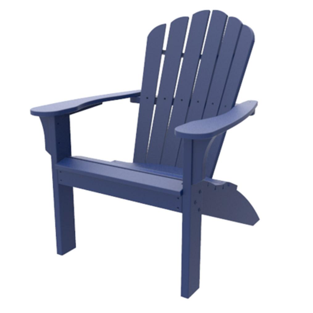 Coastline Adirondack Chair - Navy